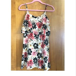 Abercrombie & Fitch floral mini dress